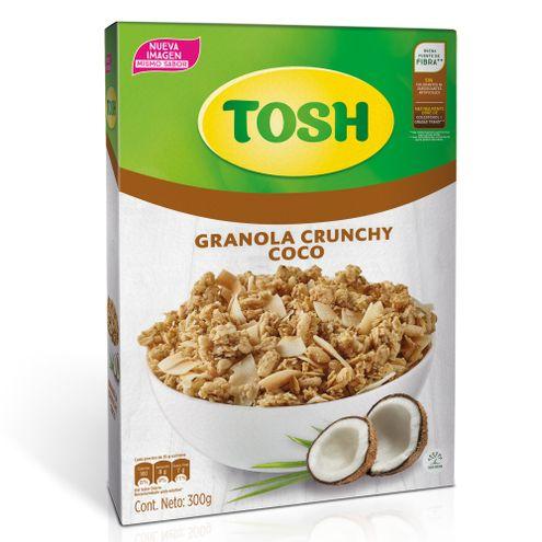 Comprar Granola Tosh Crunchy Trozos De Coco X 300g