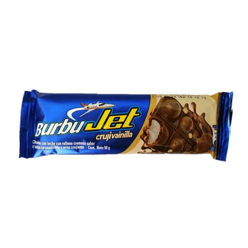 Comprar Chocolatina Burbujet Crujivainilla X 50g