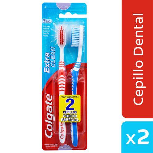 Comprar Cepillo Dental Colgate Extra Clean X 2und