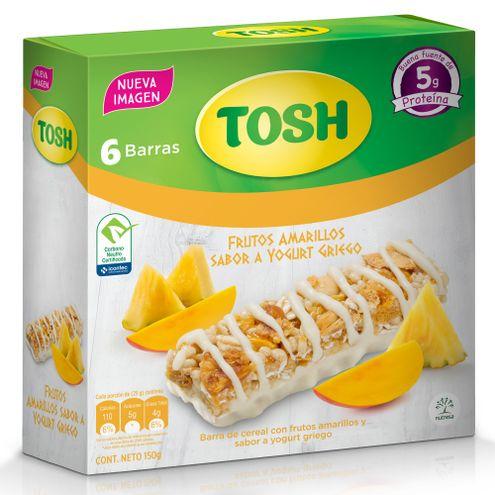 Comprar Barra Cereal Tosh Frutos Amarillos X 6und X 150g
