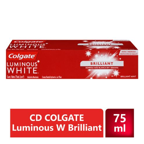 Comprar Crema Dental Colgate Luminous White Brilliant X 75ml