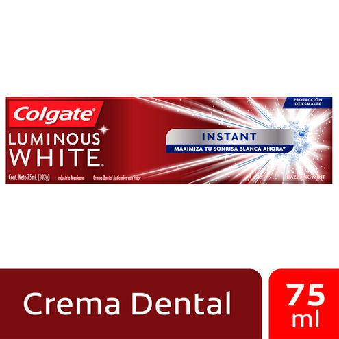 Comprar Crema Dental Colgate Luminous White Instant X 75ml