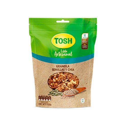 Comprar Granola Tosh Artesanal Semillas Chia X 300g