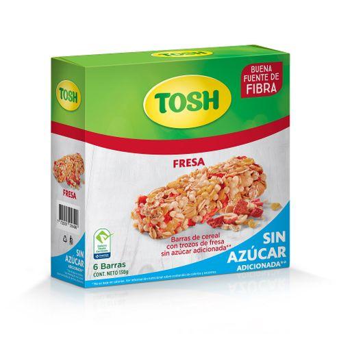 Comprar Barra Cereal Tosh Fresa X 6und X 138g