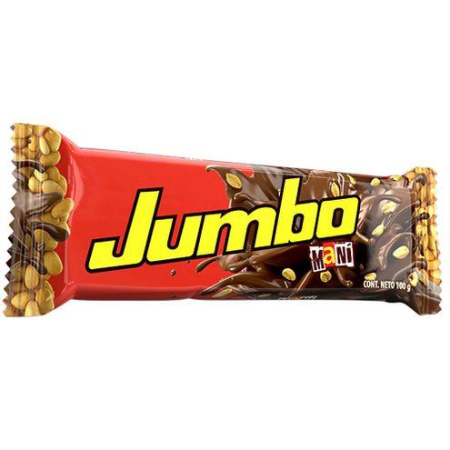 Comprar Chocolatina Jumbo Mani X 100g
