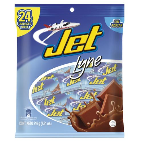 Comprar Chocolatina Jet Line Bolsa X 24und