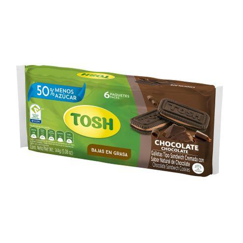 Comprar Galleta Tosh Chocolate X 6und