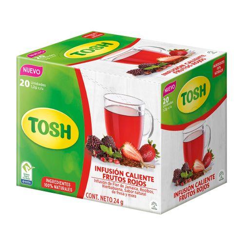 Comprar Infusion Tosh Frutos Rojos X 1.2g X 20und
