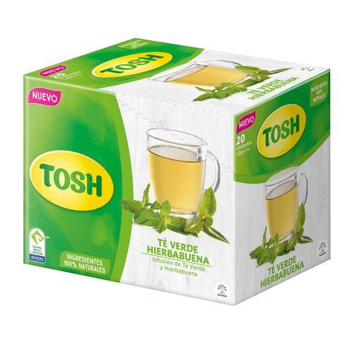Comprar Te Tosh Verde Hierbabuena X 1.2g X 20und
