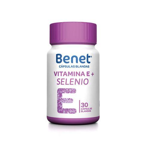 Comprar Benet Vitamina E+Selenio X 30und