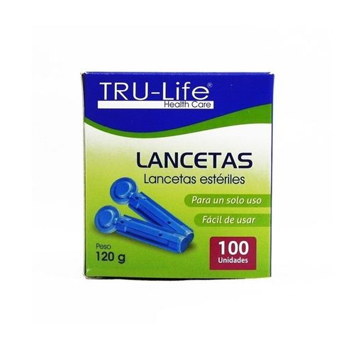 Comprar Lancetas Tru-Life X 100und