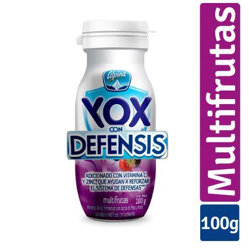 Comprar Yogurt Yox Multifrutas X 100g