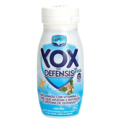 Comprar Yogurt Yox Vainilla X 100g