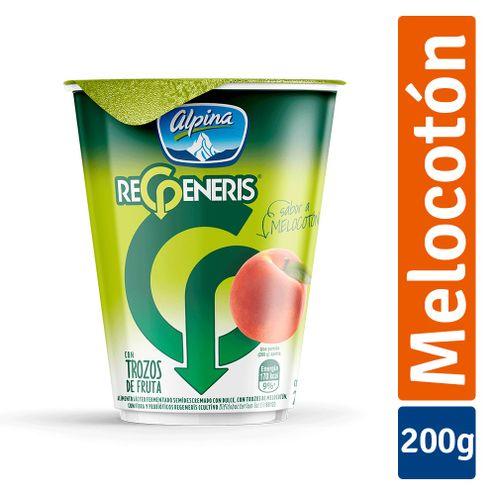 Comprar Yogurt Regeneris Melocoton X 200ml