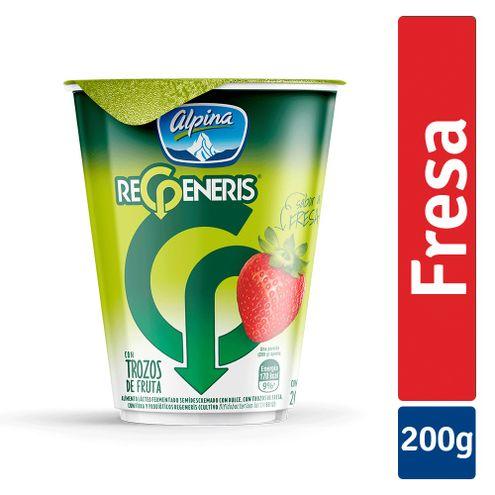 Comprar Yogurt Regeneris Fresa X 200ml - Yogurt Regeneris Fresa X200ml