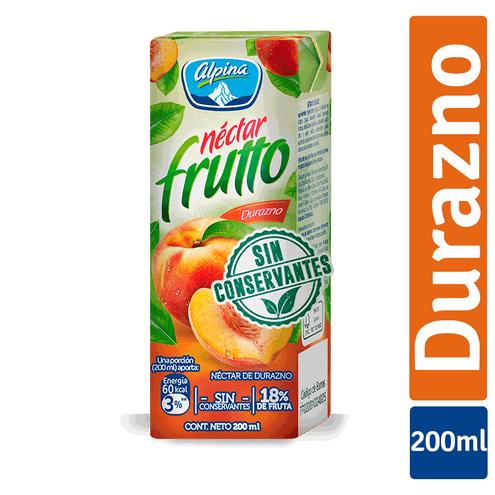 Comprar Alpina Nectar Fruto Durazno Caja X 200ml