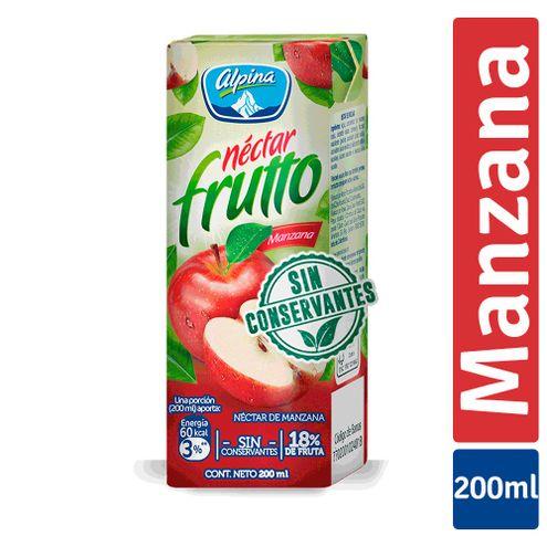 Comprar Alpina Nectar Fruto Manzana Caja X 200ml