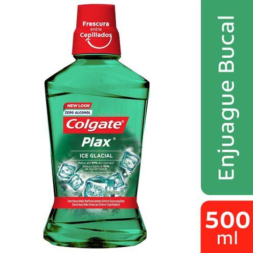 Comprar Enjuague Bucal Colgate Plax Ice Glacial X 500ml