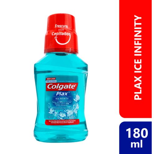 Comprar Enjuague Bucal Colgate Plax Ice Infinity X 180ml