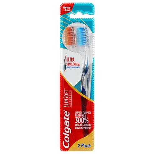 Comprar Cepillo Dental Colgate Slim Soft Advanced X 2und