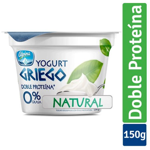 Comprar Yogurt Griego Alpina Natural X 150g