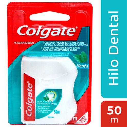 Comprar Hilo Dental Colgate Menta X 50m