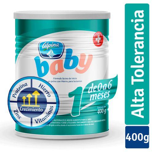 Comprar Formula Infantil Alpina Baby Etapa 1 X 400g