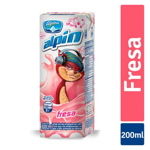 Comprar Leche Alpin Fresa X 200ml