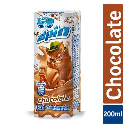 Comprar Leche Saborizada Alpin Chocolate X 200ml