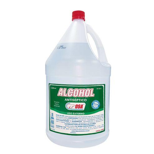 Comprar Alcohol Osa Antiseptico X 3600ml