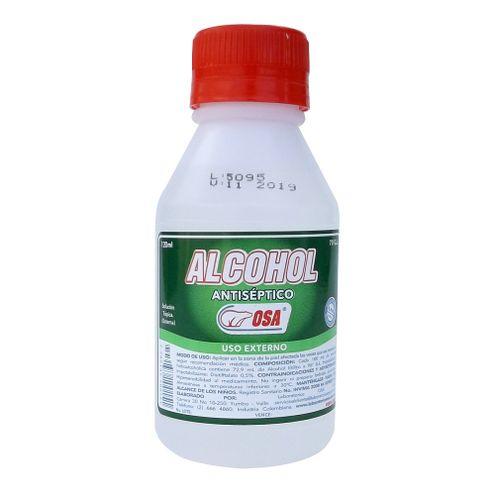 Comprar Alcohol Osa Antiseptico X 120ml