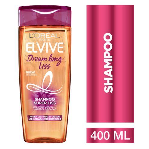 Comprar Shampoo L'oréal Paris Elvive Dream Long Liss 400ml
