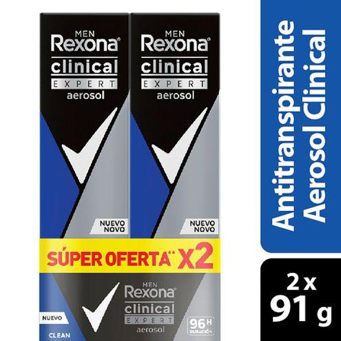 Comprar Desodorante Rexona Clean Clinical Expert Men Spray X 2und