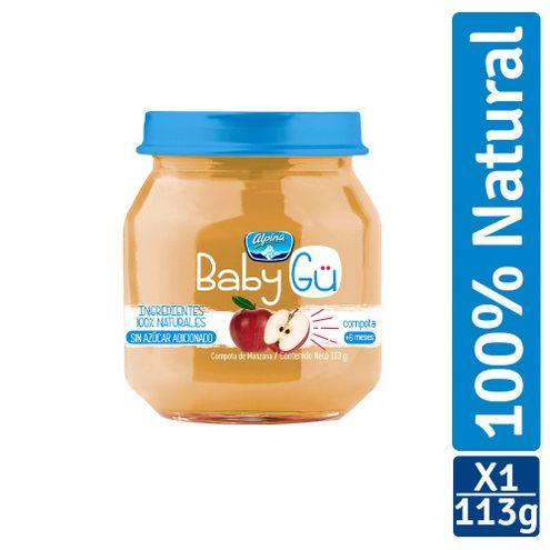 Comprar Compota Alpina Baby Gu Natural Manzana X 113g