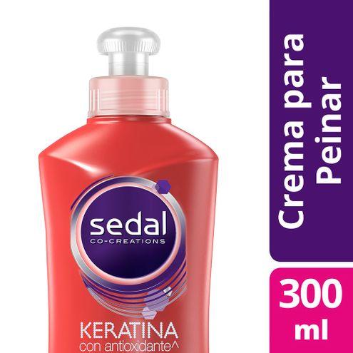 Comprar Crema Para Peinar Sedal Keratina Con Antioxidante X 300ml