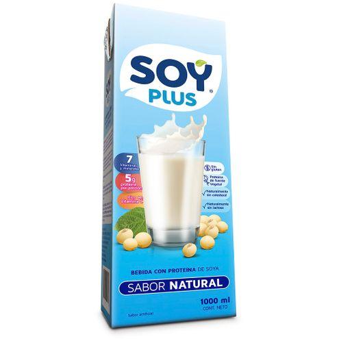 Comprar Leche De Soya Natural Soy Plus X 1000ml