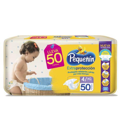 Comprar Pañal Pequeñin Extra Proteccion Etapa 4xg X 50und