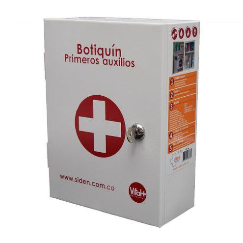 Comprar Botiquin Metalico Primeros Auxilios Siden Ref. 80