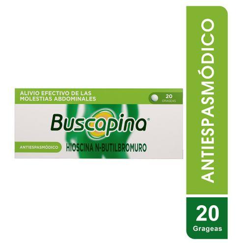 Comprar Buscapina 10mg Caja X 20 Grageas