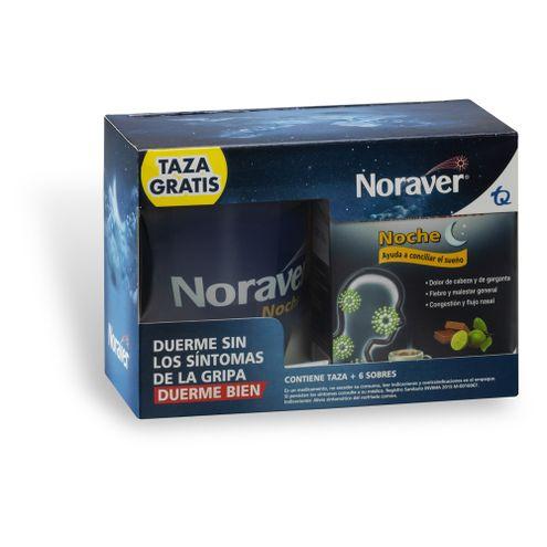 Comprar Noraver Noche X 6 Sobres + Taza Gratis