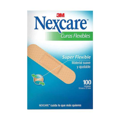 Comprar Curas Nexcare Flexible X 100und