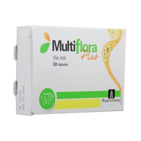 Comprar Multiflora Plus Caja X 10 Capsulas
