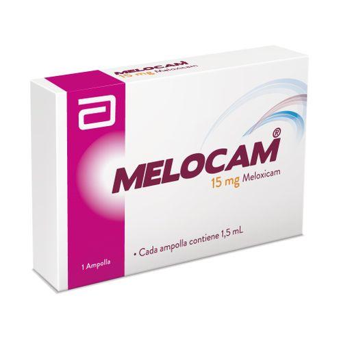 Comprar Melocam 15mg /1.5ml X 1 Ampolla