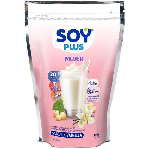 Comprar Leche De Soya Soy Plus Mujer X 200g