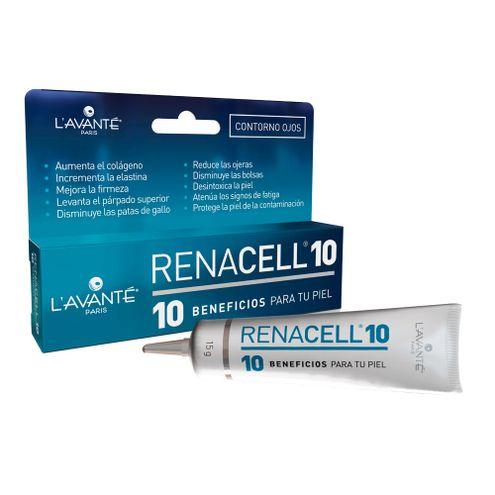 Comprar Crema Renacell 10 Beneficios Lavante Contorno Ojos X 15g