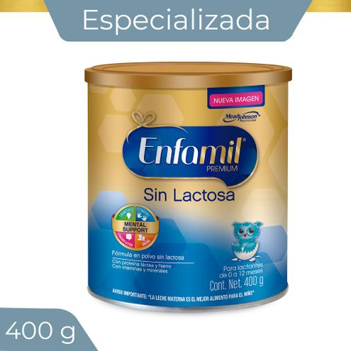 Comprar Formula Infantil Enfamil Sin Lactosa X 400g