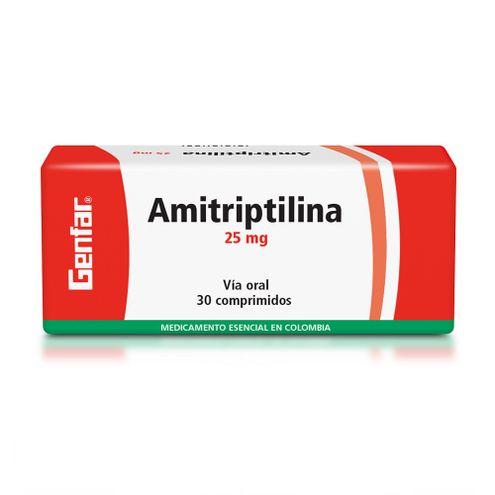 Comprar Amitriptilina 25mg X 30 Comprimidos