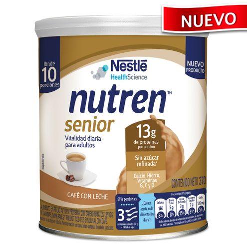 Comprar Nutren Senior Cafe Con Leche Lata X 370g