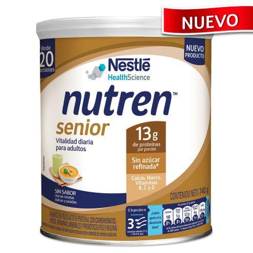 Comprar Nutren Senior Sin Sabor Lata X 740g