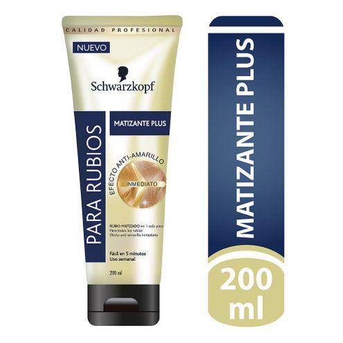 Comprar Matizante Plus Schwarzkopf Efecto Anti-Amarillo